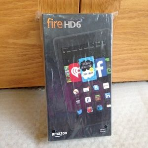 AMAZON - Fire HD6 Tablet - Brand New